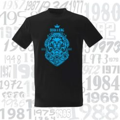 Marškinėliai BORN A KING CREATED TO DOMINATE