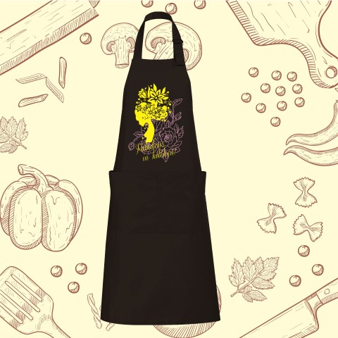 Apron Fabulous in kitchen