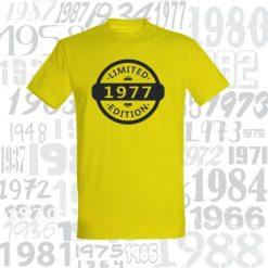 Gimtadienio marškinėliai Limited edition