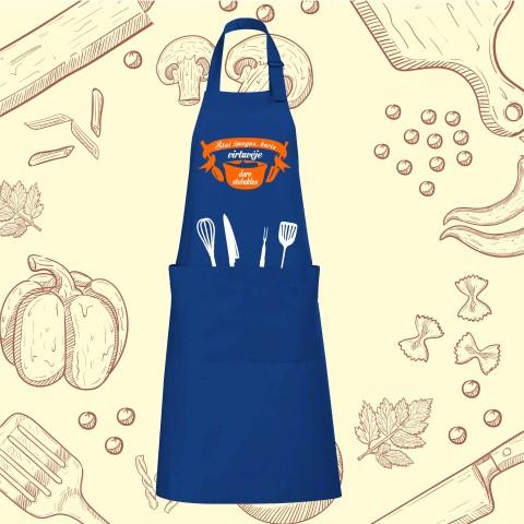 Prijuostė Štai žmogus, kuris daro stebuklus virtuvėje