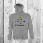 Bliuzonas I can't keep calm i am Lithuanian