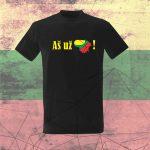 Marškinėliai Aš už Lietuvą
