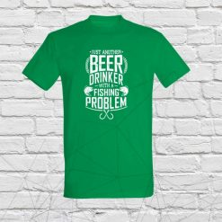 Beer drinker with fishing problem