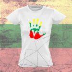 Moteriški marškinėliai Give me five