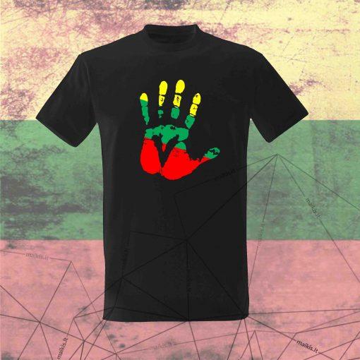 Vyriški marškinėliai Give me five