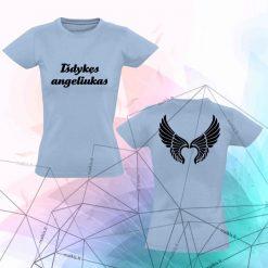 Moteriški marškinėliai Išdykęs angeliukas