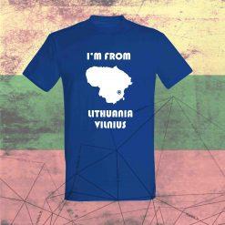 Marškinėliai I'm from Lithuania