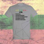 Marškinėliai Lithuania 5