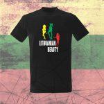 Marškinėliai Lithuania beauty