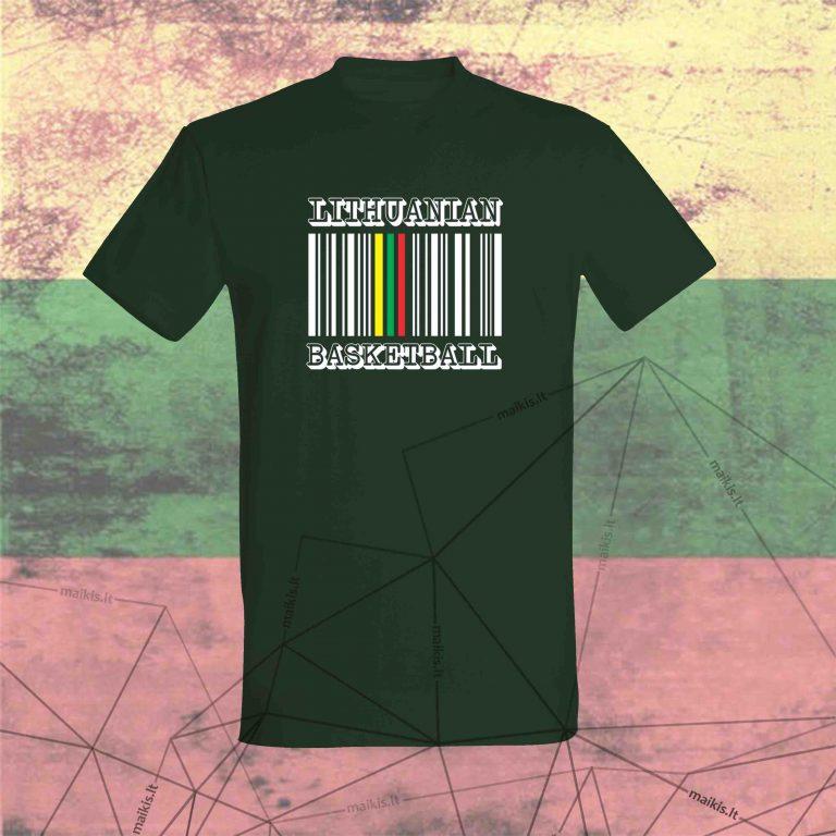 Marškinėliai Lithuanian basketball