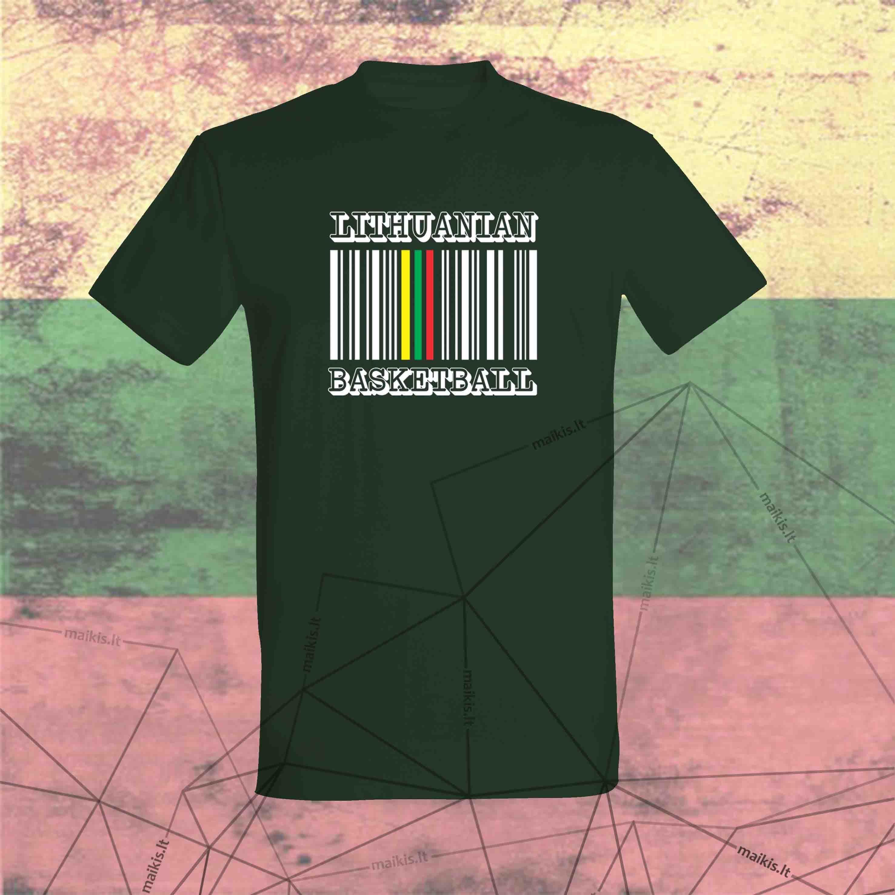 Marškinėliai Lithuanian beat