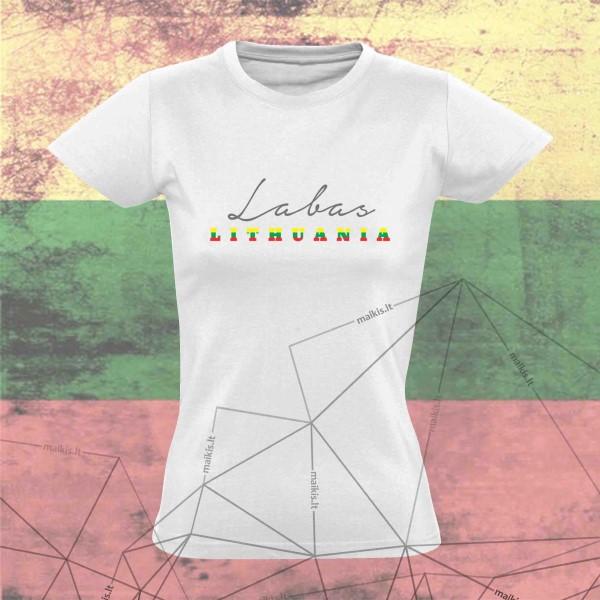 Marškinėliai Labas Lietuva