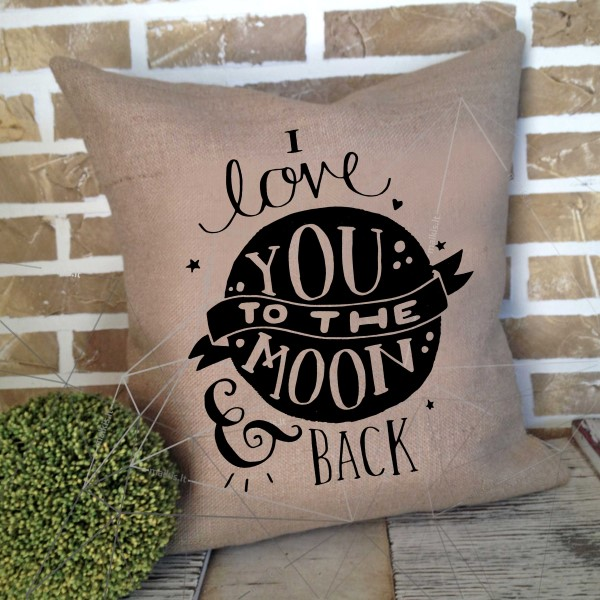 Nr.4 I love you to the moon and back