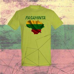 Marškinėliai Pagaminta LT