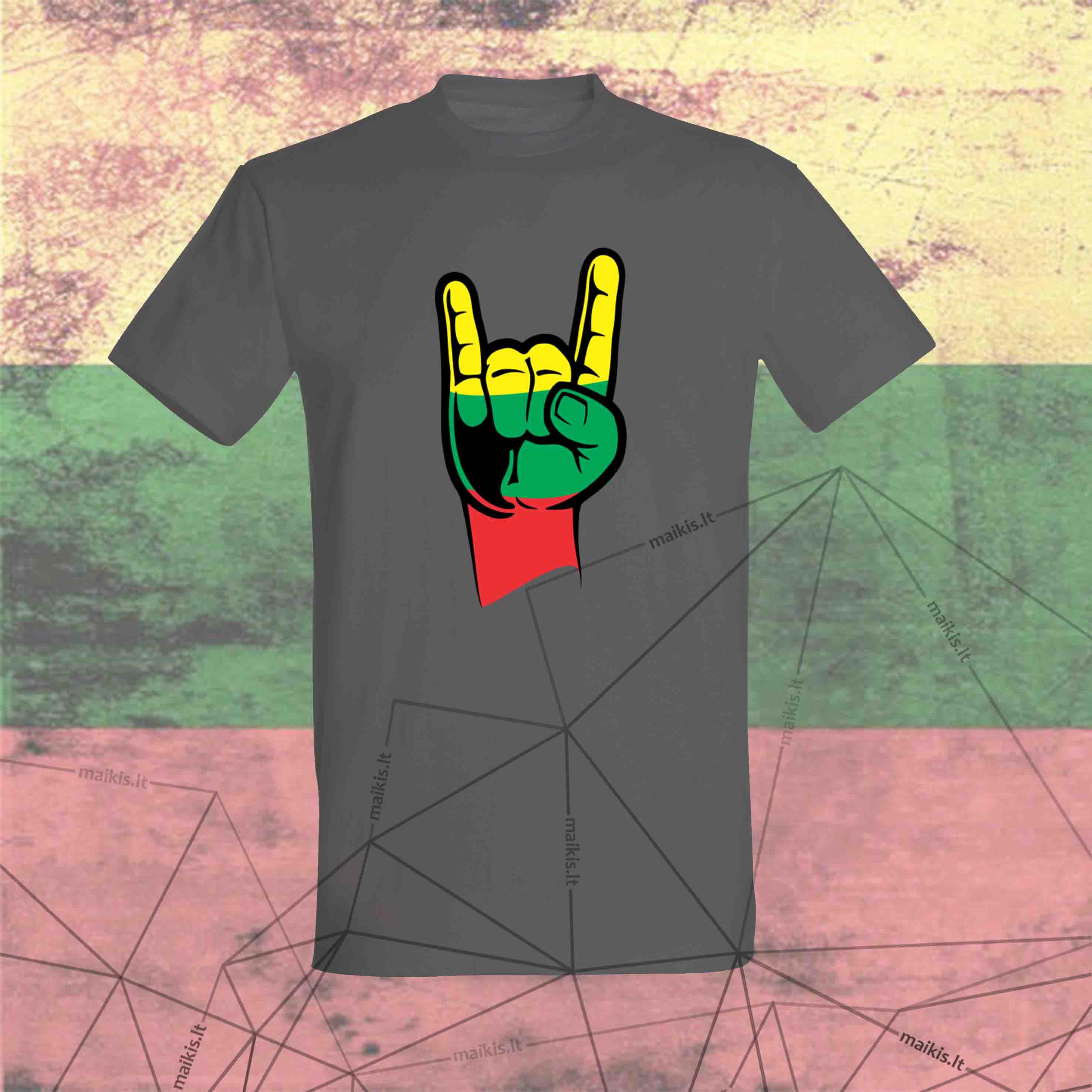 Marškinėliai ROCK Lithuania