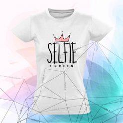 Marškinėliai asmenukių karalienei SELFIE QUEEN