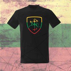 Marškinėliai Trispalvis Vytis
