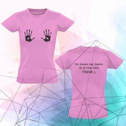 Moteriški marškinėliai Visi žmonės kaip žmonės