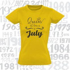 Marškinėliai Diamond queens are born in...