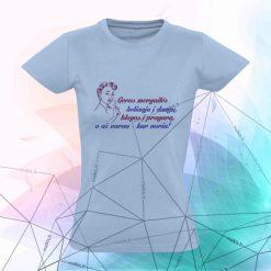 Moteriški marškinėliai Geros mergaitės keliauja...