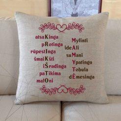 Dekoratyvinė pagalvėlė Krikšto mamytė