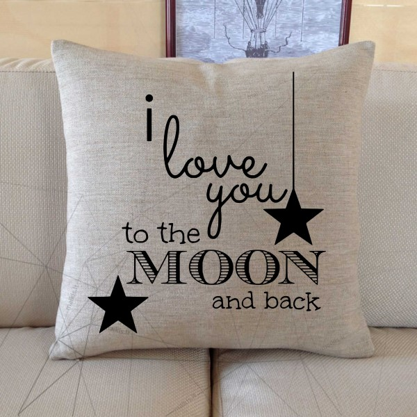 Nr.5 I love you to the moon and back