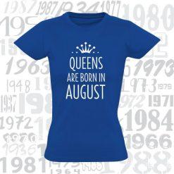 Marškinėliai gimtadienio proga Queens are born