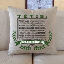 Dekoratyvinė pagalvėlė Tėčiui