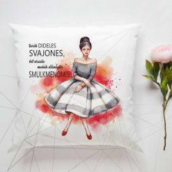 Dekoratyvinė pagalvėlė Turėk dideles svajones