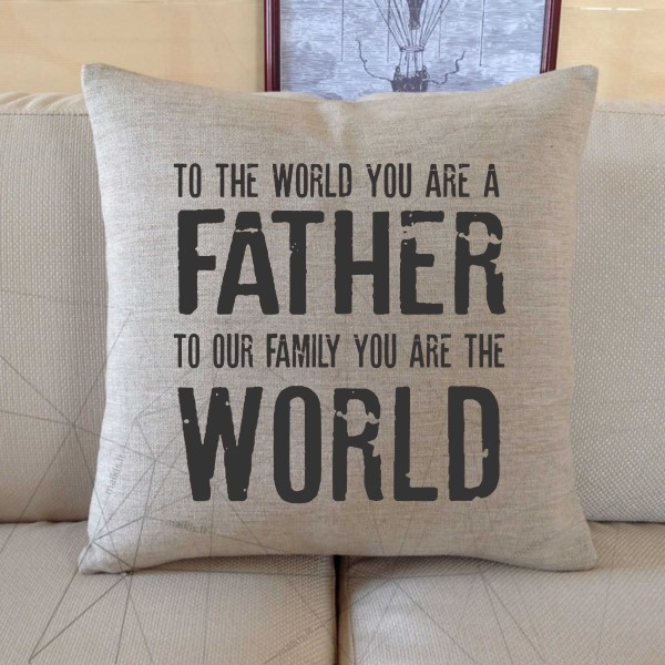 To our family you are the world