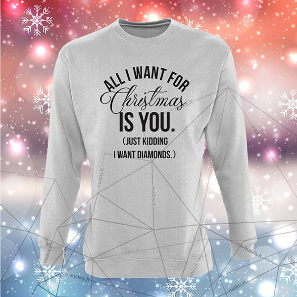 Kalėdinis bliuzonas – I want diamonds