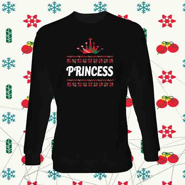 Vaikiškas kalėdinis bliuzonas Princess