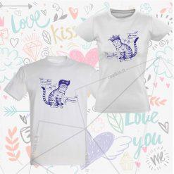 Marškinėliai poroms valentino dienai Faini