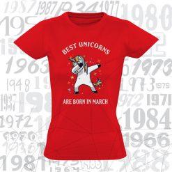 Marškinėliai gimtadieniui - Best Unicorns