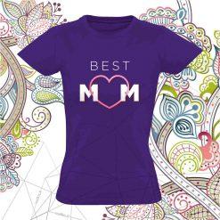 Marškinėliai mamai Best Mom
